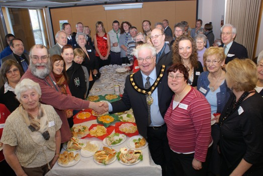Volunteer Thank You Event at South Derbyshire District Council