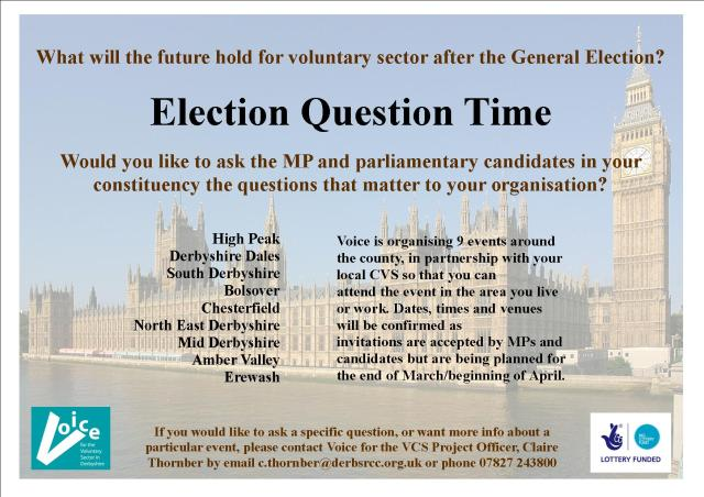 Election Question Time Flyer