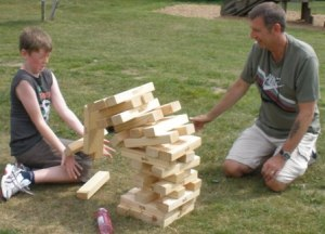 Volunteers Week 2010 - Jenga
